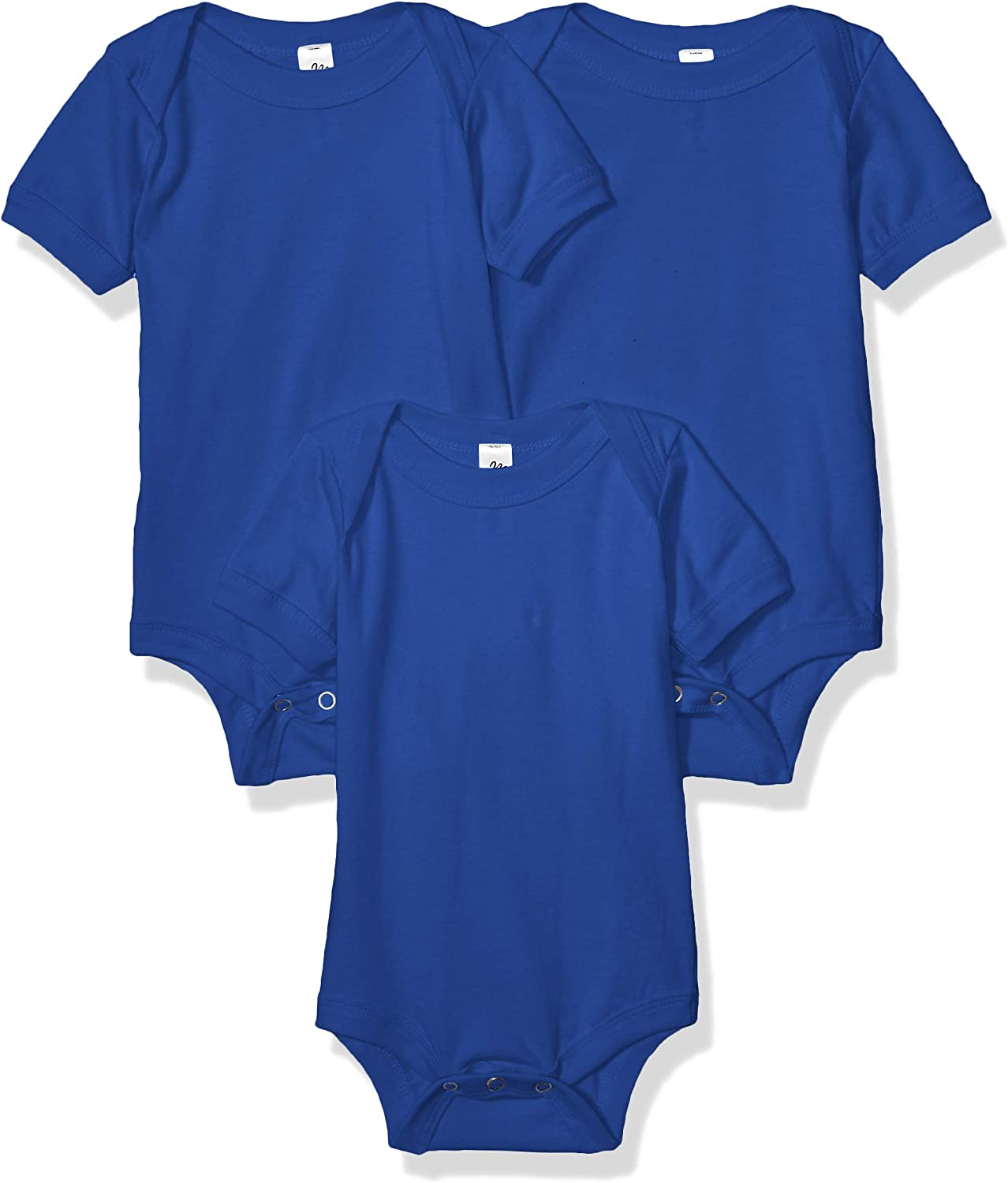 Marky G Apparel Baby Jersey Short-Sleeve One-Piece-3 Pack