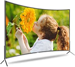$500 » 32/50/55-Inch Curved Smart TV,720P Basic LED HD TV Flat Screen Television Built-in HDMI USB VGA Earphone Optical Ports - R...