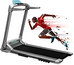 OVICX Q2S Folding Portable Treadmill Manual Compact Walking Running Machine for Home Gym Workout Electric Desk Treadmills ...