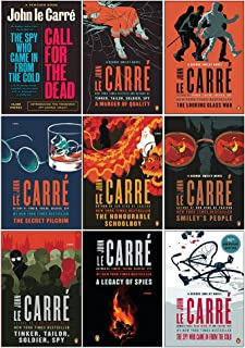 The Smiley Collection 9 Books Set By John Le Carré (Call For The Dead,A Murder Of Quality,The Spy Who Came in from the Col...