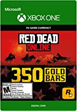 Red Dead Redemption 2: 350 Gold Bars 350 Gold Bars - [Xbox One Digital Code]
