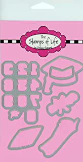 Graduation Die Cuts for Card-Making and Scrapbooking Supplies and DIY Crafts by The Stamps of Life - Congratulations