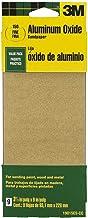 3M 19015ES-CC Tinta de óxido de alumínio de grão fino, madeira, lixa de metal, pacote com 9