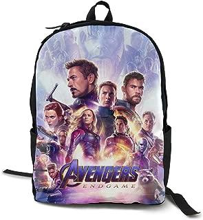 Avengers Endgame Comic Casual Canvas Backpack Daypack College Bag School Bag Laptop Bag Book Bag