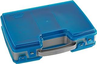 Plano Large 2 Sided Tackle Box, Metallic Gray & Blue, Medium