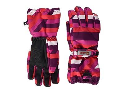 LEGO Kids Snow Gloves with Anti-Slip Grip Membrane (Little Kids/Big Kids) (Dark Pink) Over-Mits Gloves