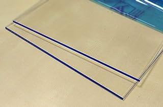 Hoja de plástico acrílico transparente 3mm - Tamaño A4 DINA4 (210 x 297 mm)- Metacrilato transparente varios tamaños - Plancha Metacrilato traslucido - Placa acrílico transparente - Lamina plástico