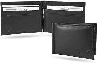 Cleveland Cavaliers NBA RFID Blocking Shield Black Leather Moneyclip Wallet
