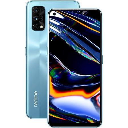 """realme 7 Pro - Smartphone de 6.4"""", 8GB RAM + 128GB ROM, Pantalla SuperAMOLED FHD+, procesador Octa-Core Snapdragon 720G, Plata"""