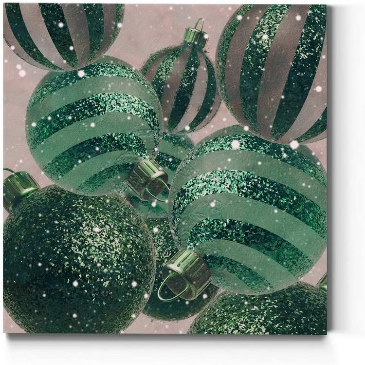Renditions Gallery Branded goods Gorgeous Ornament Assortment Christmas Wall 4 Art
