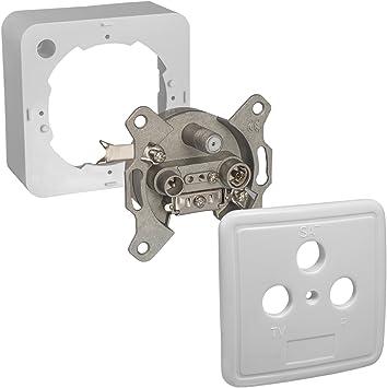 Caja de conexiones HB-Digital SAT/cable: Amazon.es ...