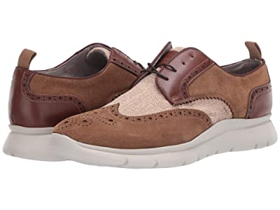 Kenneth Cole New York Trent Lace-Up (Tobacco Combo) Men