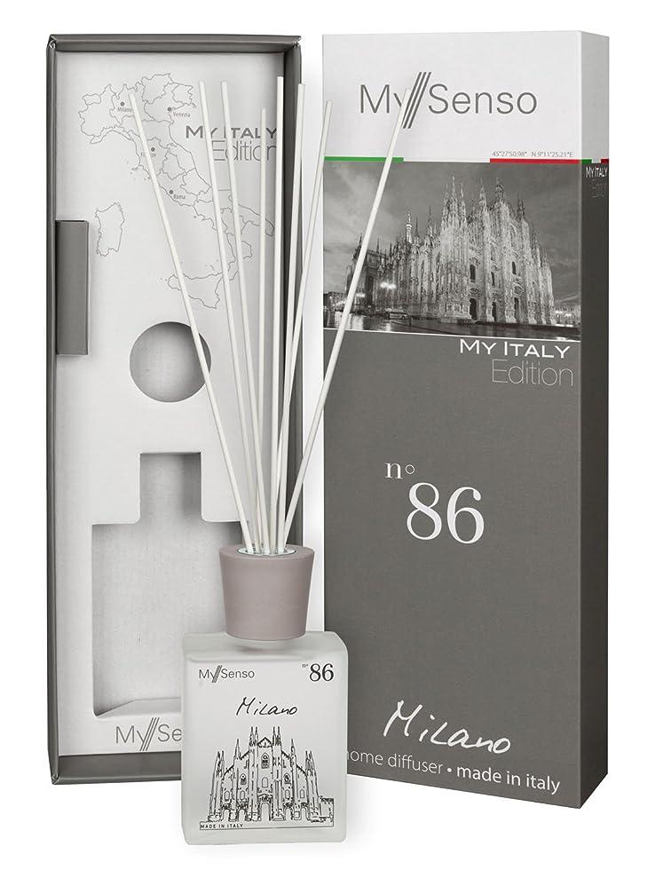 ジャンル喪貧しいMySenso ディフューザー My Italy Edition No.86 ミラノ