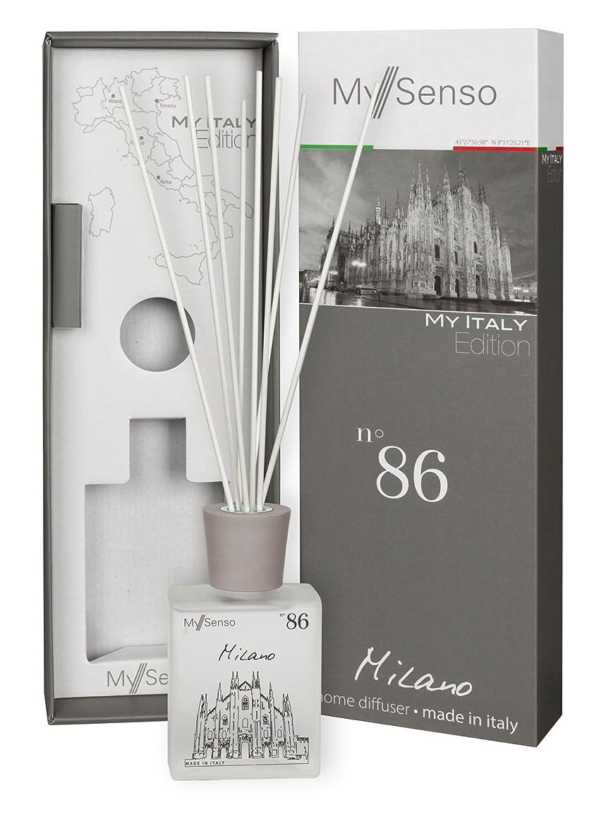 締め切りサイトライン大砲MySenso ディフューザー My Italy Edition No.86 ミラノ