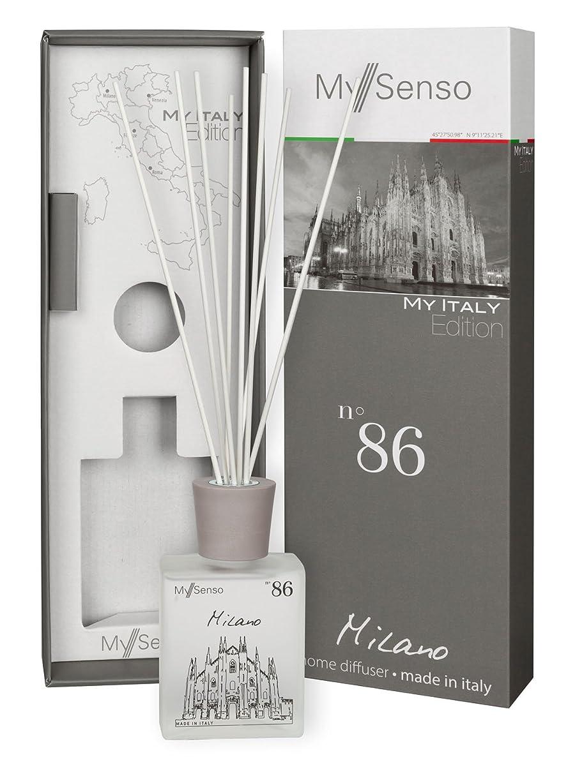 スーパーマーケット記念品虚栄心MySenso ディフューザー My Italy Edition No.86 ミラノ