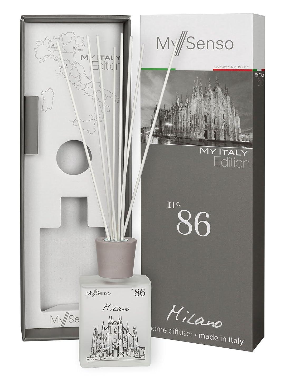 インタネットを見るビームぞっとするようなMySenso ディフューザー My Italy Edition No.86 ミラノ