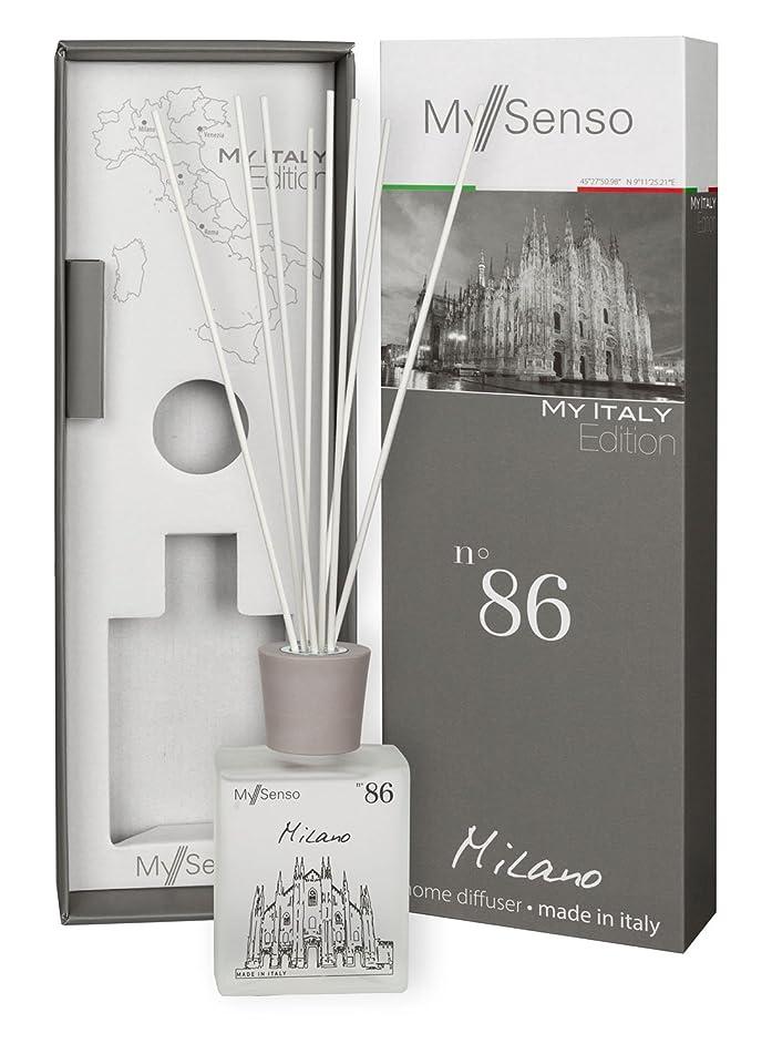 大きい国家マーカーMySenso ディフューザー My Italy Edition No.86 ミラノ