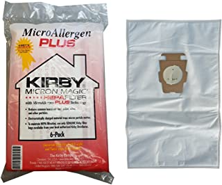 Best Kirby Micron Magic Micro Allergen Plus HEPA Vacuum Filter Bags Package of 6 #204814A Review