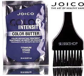 Joico Color Intensity Color Butter - Color Depositing Treatment (with Sleek Tint Brush) (Titanium - 20ml sachet)