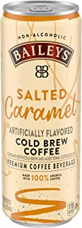Baileys Non-Alcoholic Salted Caramel Flavored Cold Brew Coffee (11 fl oz Can)