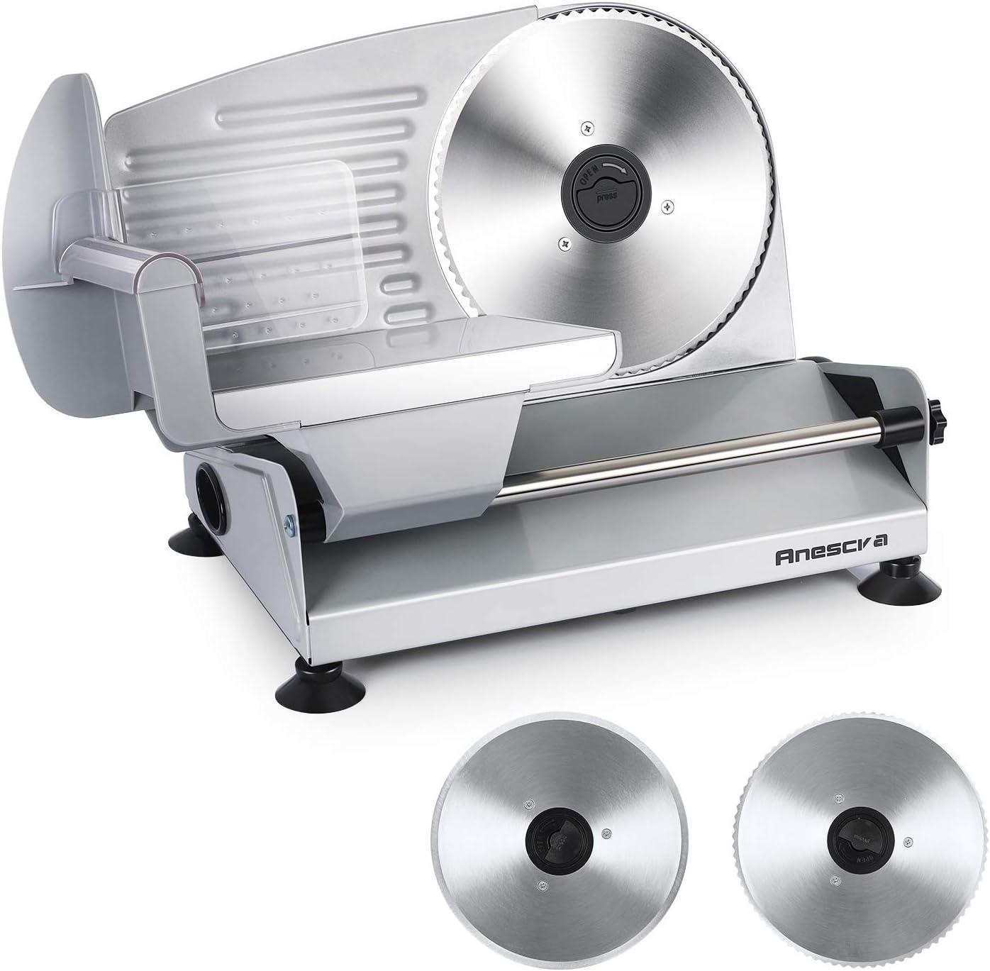 Anescra 200W Electric Food Slicer