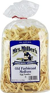 Mrs. Millers Old Fashioned Medium Noodles 16oz. Bag (2 Bags)