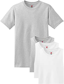 177ded90811b FREE Shipping on eligible orders. Hanes Men's ComfortSoft Short Sleeve T- Shirt (4 Pack )