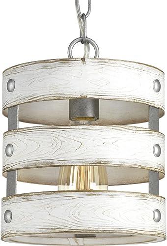 wholesale Progress Lighting P500022-141 Gulliver Mini-Pendant, 2021 discount Galvanized Finish outlet sale
