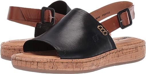 Black/Brown Full Grain Leather Combo