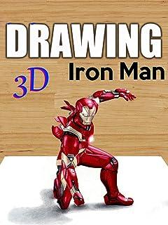 Clip: Drawing 3D Iron Man