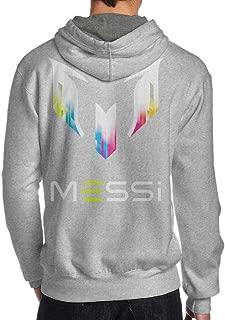 MCA Best Soccer Player Messi Logo Men's Hooded Sweatshirt