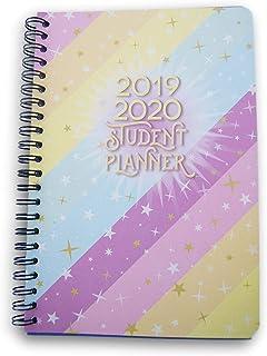Sparkle Patterned Student Planner for 2019-2020