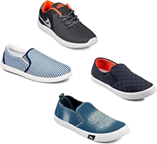 Asian Men's Casual Shoes Combo Pack of 4-0301-M617