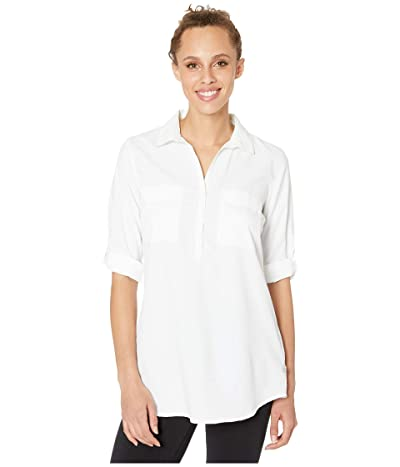 Royal Robbins Bug Barrier Expedition Tunic (White) Women