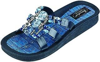 Best denim colored sandals Reviews