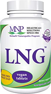Michael's Naturopathic Programs LNG - 60 Vegan Tablets - High Potency Synergistic Blend of Herbs Traditionally Known for L...