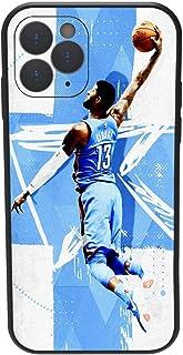 iPhone iPhone 11 Pro case, Basketball NBA Theme Kobe James,Flexible TPU Protective Cover,Ultrathin Anti-Fall Soft Shell Bl...