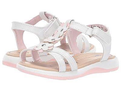 Kid Express Ainara (Toddler) (White Combo) Girls Shoes