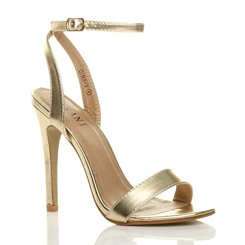 deaa5a4cc09 Gold Heels: Amazon.co.uk