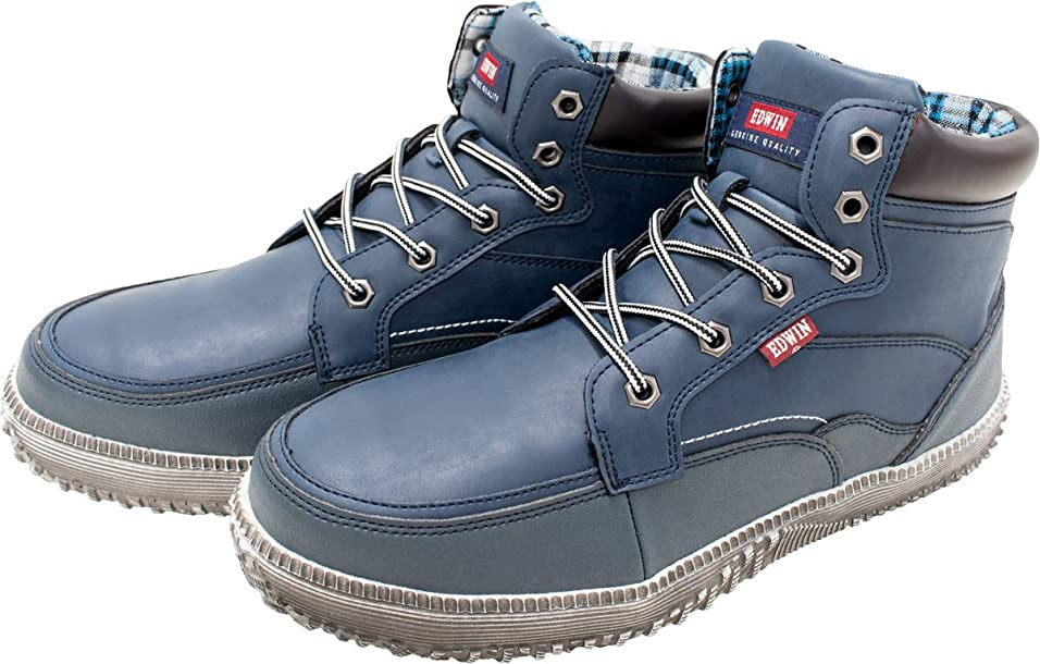 お母さんご意見喉頭(エドウイン) EDWIN 安全 靴 セーフティー スニーカー ESM101 鉄芯入り 軽量 シューズ