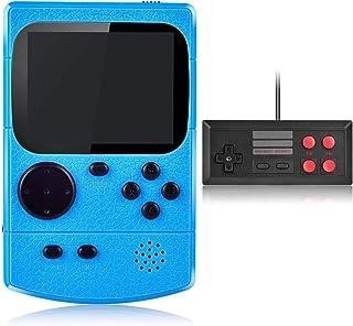 comprar comparacion Kiztoys Consola de Juegos Portátil,Consola Retro 400 Juegos Clásicos y Pantalla a Color de 2.8 Pulgadas para 2 Jugadores S...