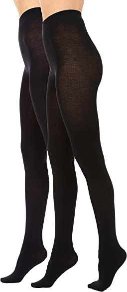 HUE - Heat Temp Tights 2-Pack
