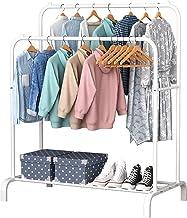 Amazon Co Uk White Clothing Rack