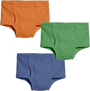 City Threads Boys' 100% Certified Organic Cotton Briefs Underwear Made in USA