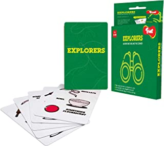 Toiing Explorers - Indoor Adventure Card Game for Kids   Develops Problem Solving Skills   Age 3+ Years   Travel Friendly ...