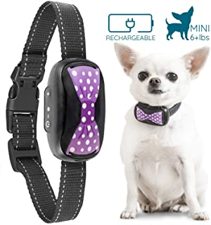 GoodBoy Humane Bark Collar for Small Dogs - Vibrating Anti Barking Device with New 2018 Design and Microchip Upgrade for Better Bark Detection - Rechargeable & Weatherproof