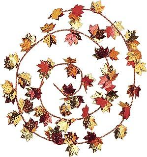 مجموعة إكليل الخريف من Creative Converting ، ديكورات الخريف ، ديكورات عيد الشكر ، ديكورات باب الخريف ، لافتات الخريف ، إكل...
