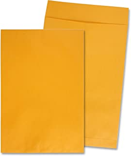 Quality Park 42353 Quality Park Jumbo Size Kraft Envelopes, 12-1/2x18-1/2, Brown Kraft, 25/Box