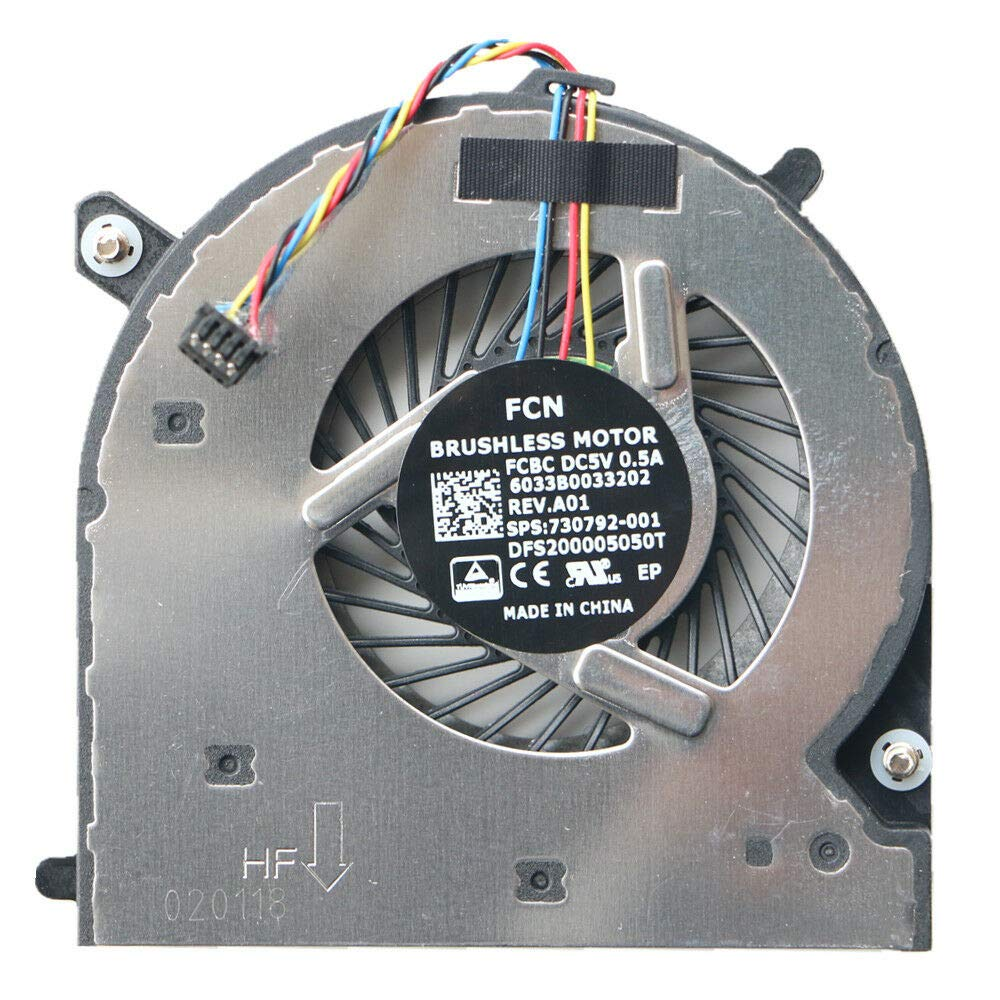Replacement Regular discount CPU Cooling Fan for Al sold out. HP Elitebook G 840 G2 850 G1