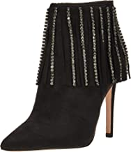 Jessica Simpson Womens Prista Leather Bootie Ankle Boots